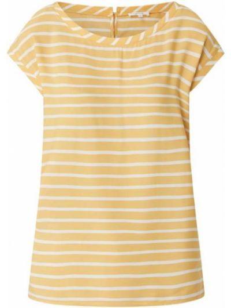 Bluzka z wiskozy - żółta Opus