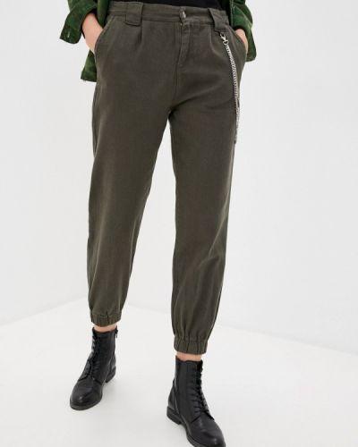 Повседневные зеленые брюки Savage