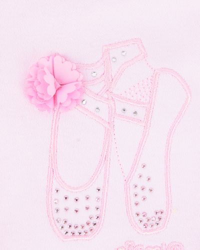 Балетки розовый Nicol