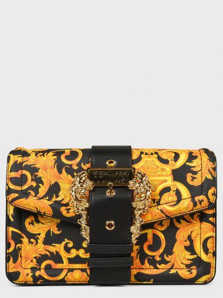 Кожаная сумка Versace Jeans Couture