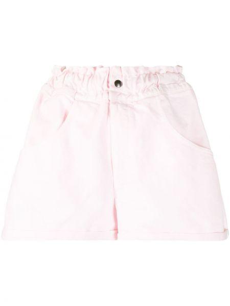 Шорты с карманами - розовые Forte Dei Marmi Couture
