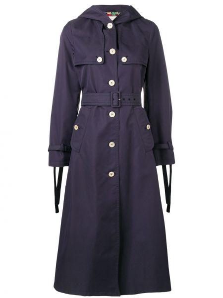 Długi płaszcz klasyczny z kapturem Gucci