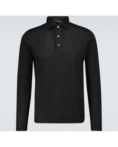 Klasyczna koszula wełniana Lardini