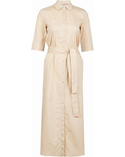 Платье миди на пуговицах с поясом Twin-set