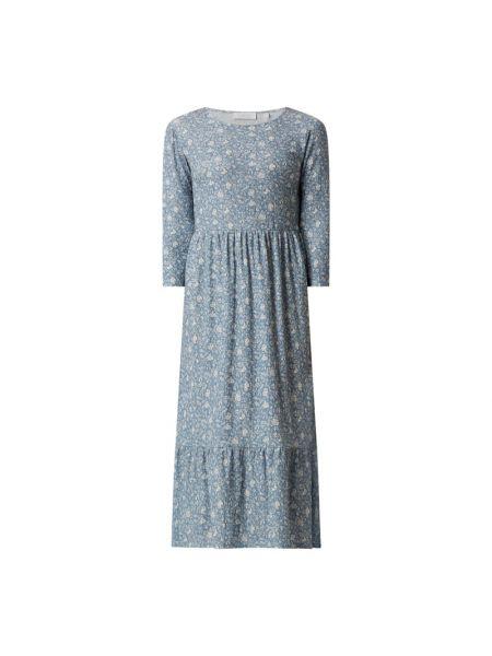 Sukienka rozkloszowana z falbanami - biała Rich & Royal