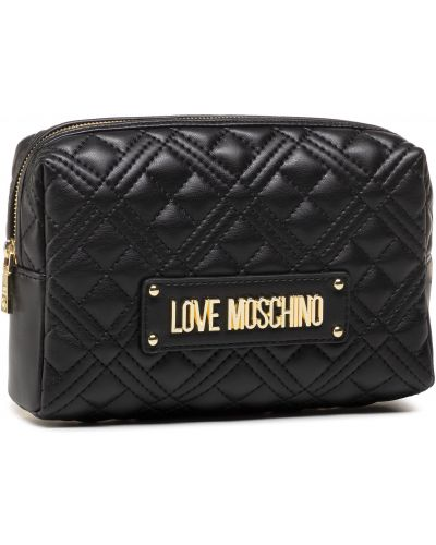 Kosmetyczka - czarna Love Moschino