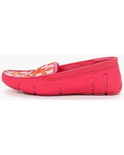 Текстильные мокасины - розовые Swims