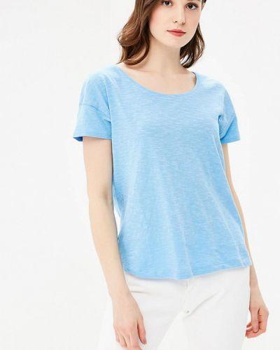Голубая футболка S.oliver