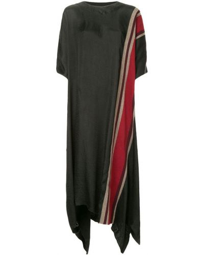 Платье оверсайз в полоску Uma Wang