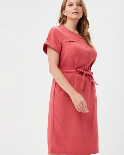 Платье розовое Max&style