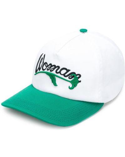 Белая кепка с логотипом Off-white