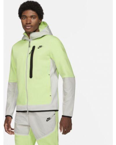 Włókienniczy z rękawami bluzka z kapturem Nike