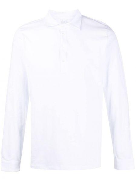 Белая классическая прямая классическая рубашка с воротником Cenere Gb