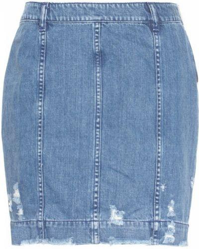 Синяя джинсовая юбка Public School