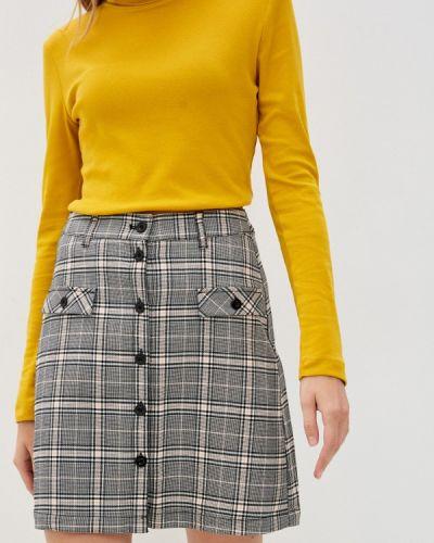 Серая юбка свободного кроя Q/s Designed By