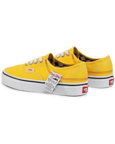 Żółty sneakersy Vans