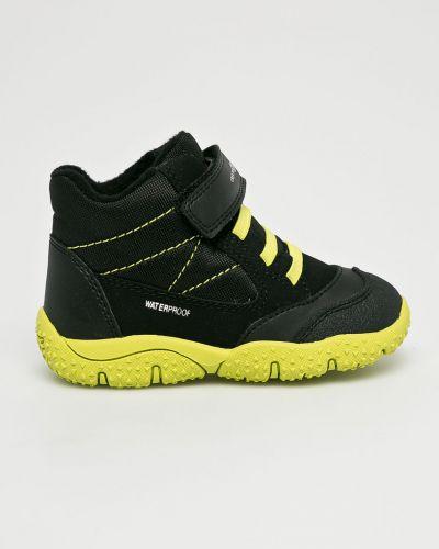 Туфли черные круглый Geox