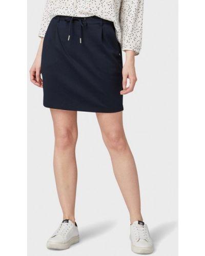 Джинсовая юбка карандаш синяя Tom Tailor Denim