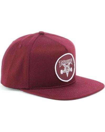 Красная кепка Thrasher
