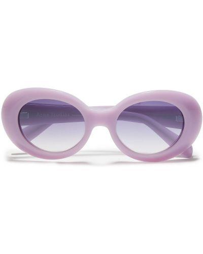 Etui na okulary - fioletowe Acne Studios
