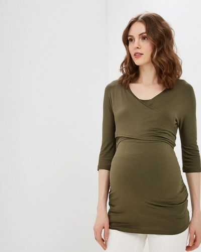 Поло зеленый хаки Dorothy Perkins Maternity