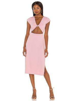 Кашемировое платье - розовое Susana Monaco