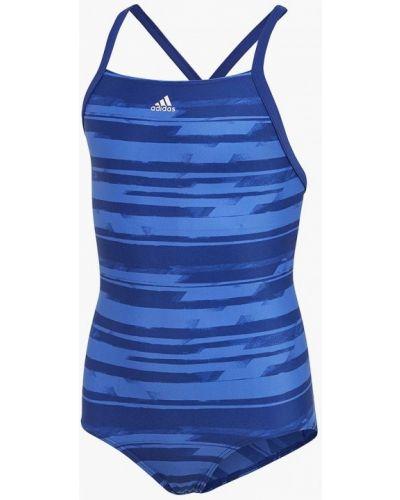 Купальник синий Adidas