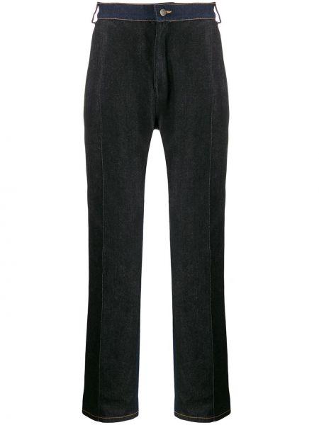 Хлопковые джинсы - черные Anton Belinskiy