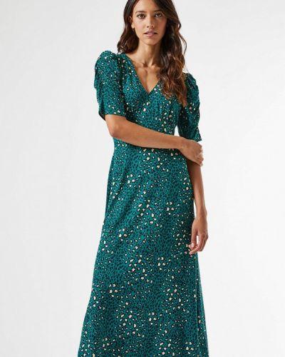 Прямое бирюзовое платье Dorothy Perkins