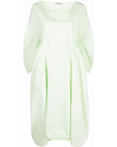 Зеленое платье макси длинное Henrik Vibskov