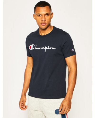 T-shirt z haftem Champion