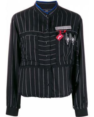 Черный пиджак с манжетами Diesel