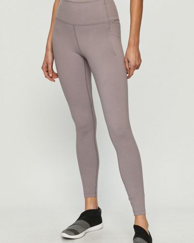 Fioletowe legginsy z nylonu Under Armour