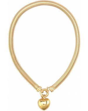 Ожерелье с жемчугом золотое Timeless Pearly