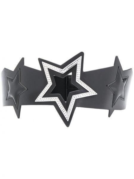 Черный ремень металлический с поясом Liu Jo