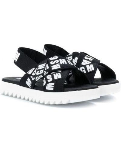 Черные сандалии Msgm Kids