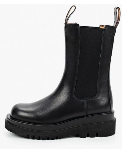 Черные кожаные ботинки челси Consetta