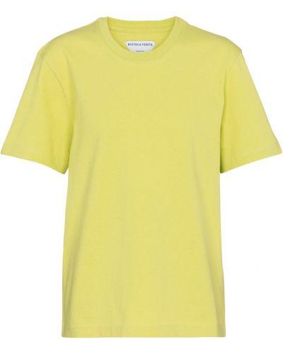 Лонгслив - желтая Bottega Veneta