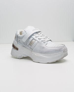 Силиконовые белые кроссовки Sidestep