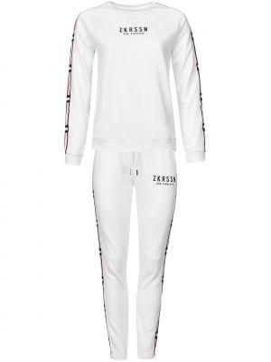 Хлопковый спортивный костюм - белый Zoe Karssen