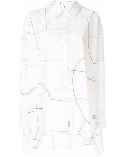 Классическая черная прямая классическая рубашка с воротником Ruban