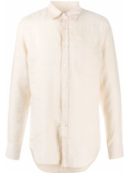 Фланелевая рубашка с воротником на пуговицах с карманами Portuguese Flannel