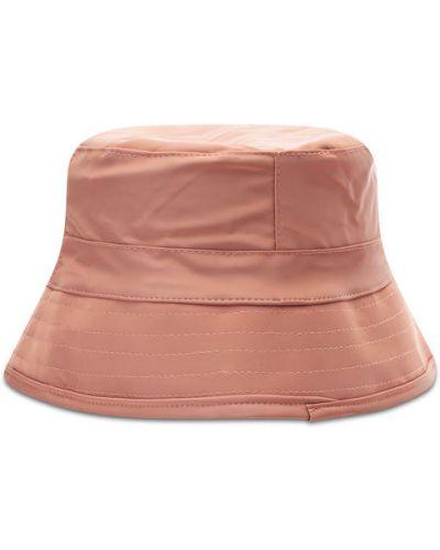 Różowy kapelusz Rains
