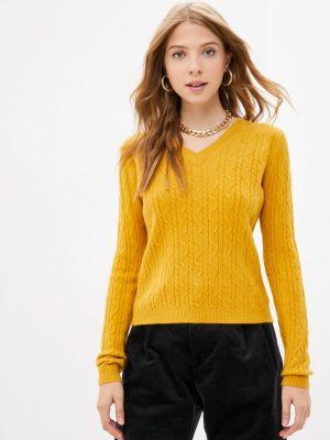 Желтый пуловер Goldrai