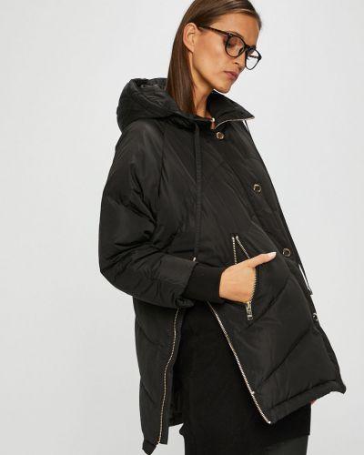 Утепленная куртка с капюшоном прямая Silvian Heach