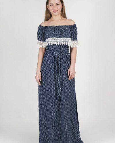 Платье с открытыми плечами осеннее Vergans