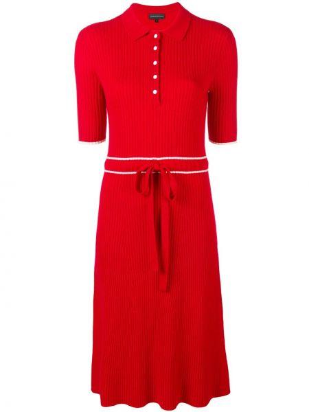 Шерстяное платье - красное Cashmere In Love