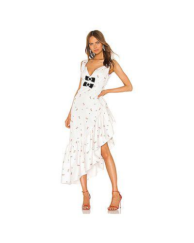 Платье миди из вискозы на пуговицах Marianna Senchina
