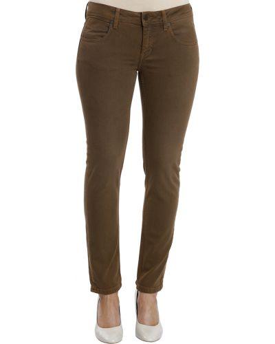 Коричневые джинсы Burberry