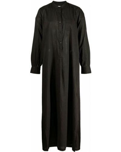 Платье макси с длинными рукавами - черное Nili Lotan